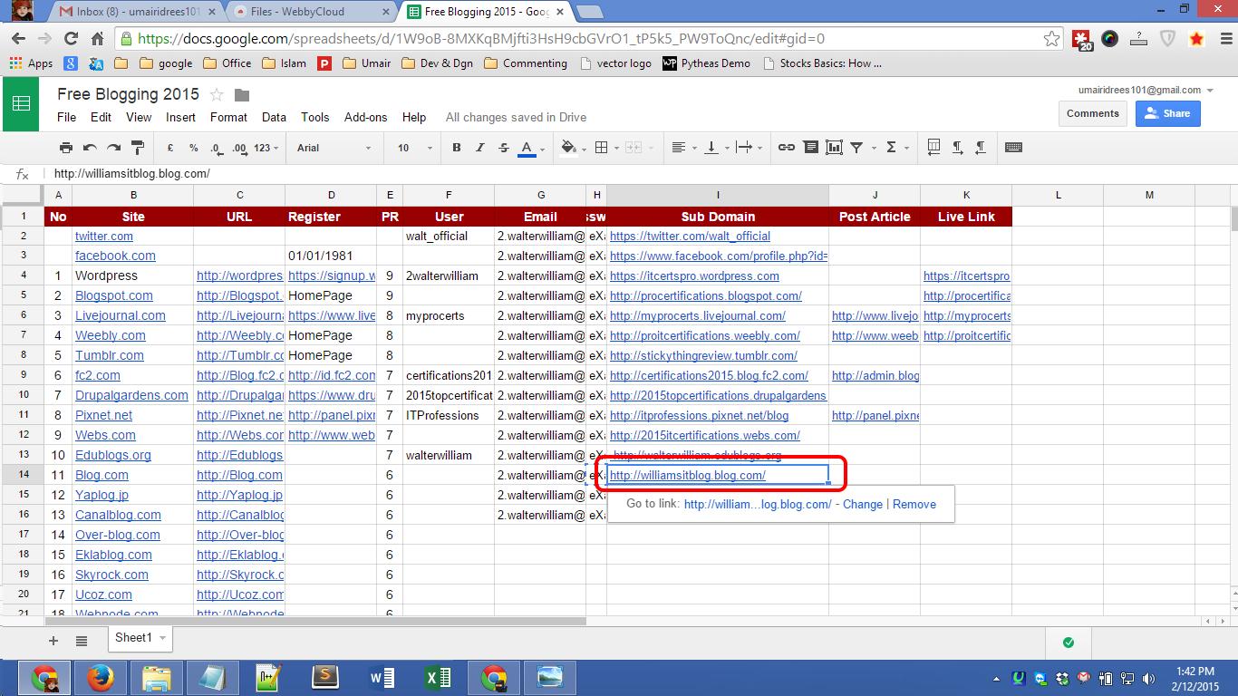 Blog.com account registration Screenshot 09