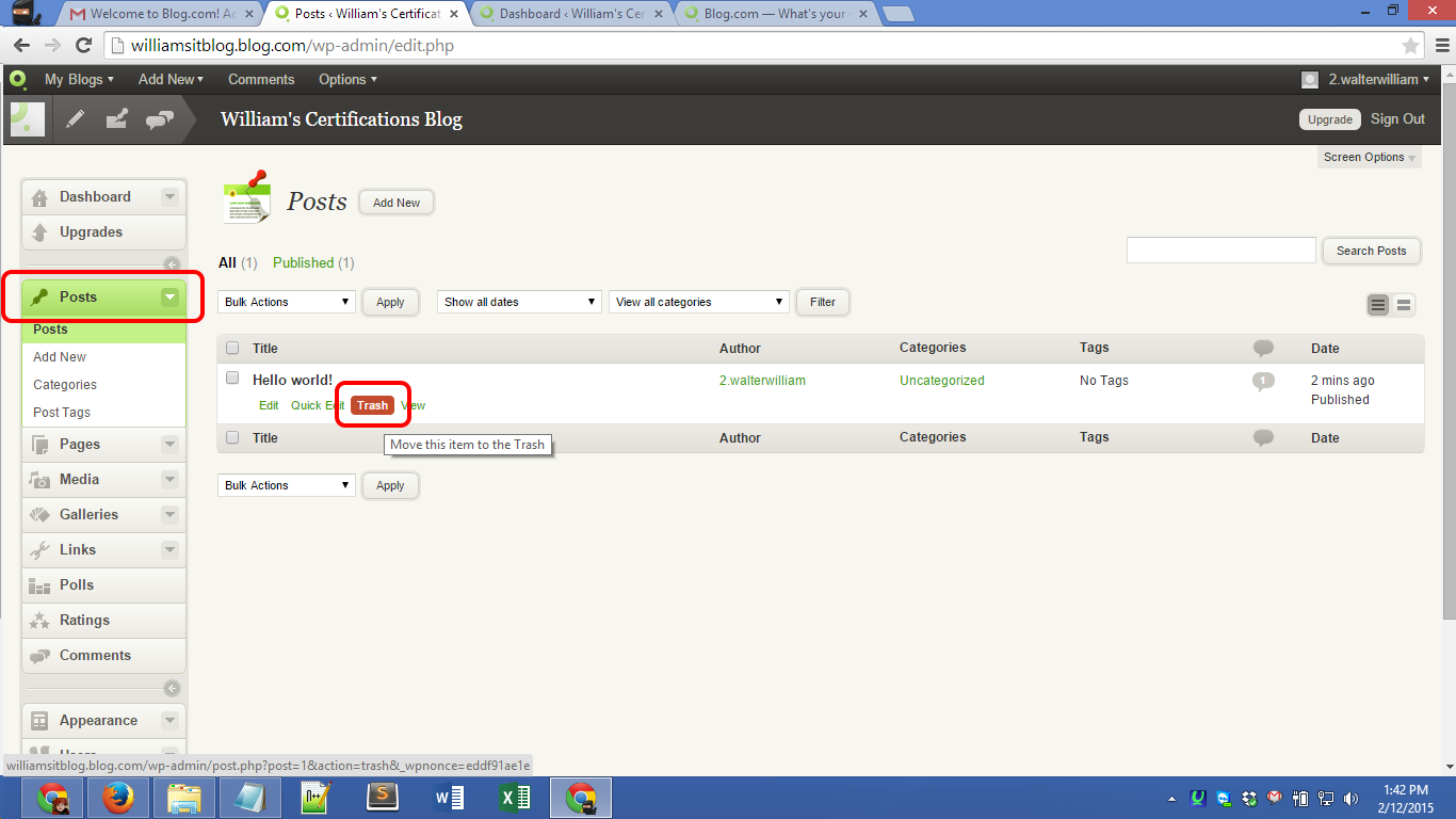 Blog.com account registration Screenshot 11
