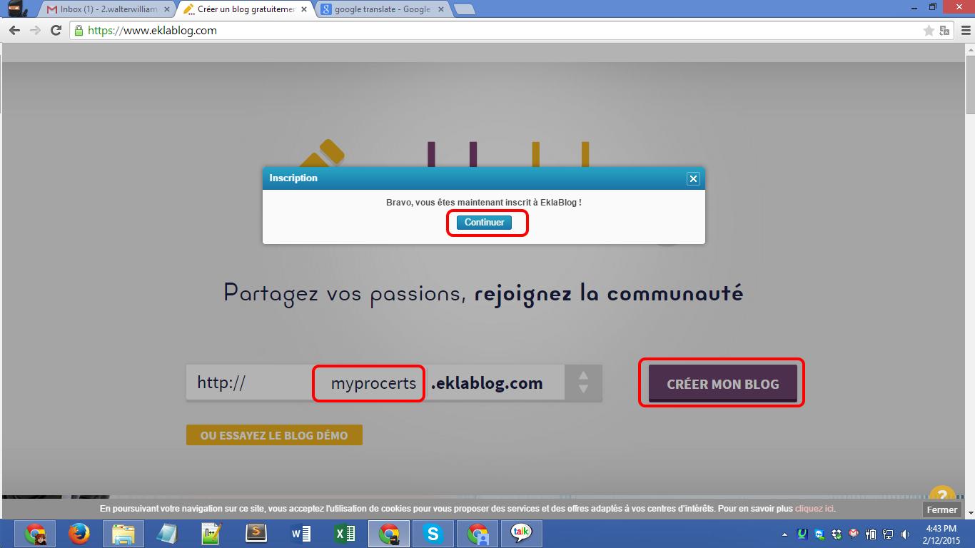 Eklablog.com blog registration Screenshot 04