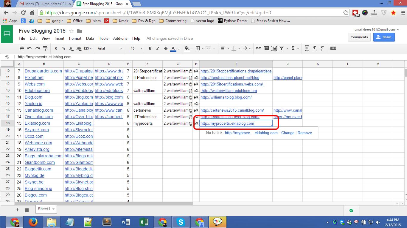 Eklablog.com blog registration Screenshot 06