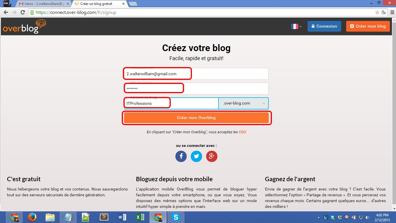 Over-blog.com registration Screenshot 02