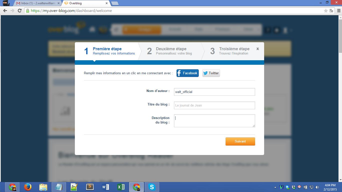 Over-blog.com registration Screenshot 05