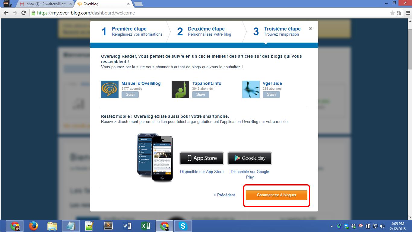 Over-blog.com registration Screenshot 09