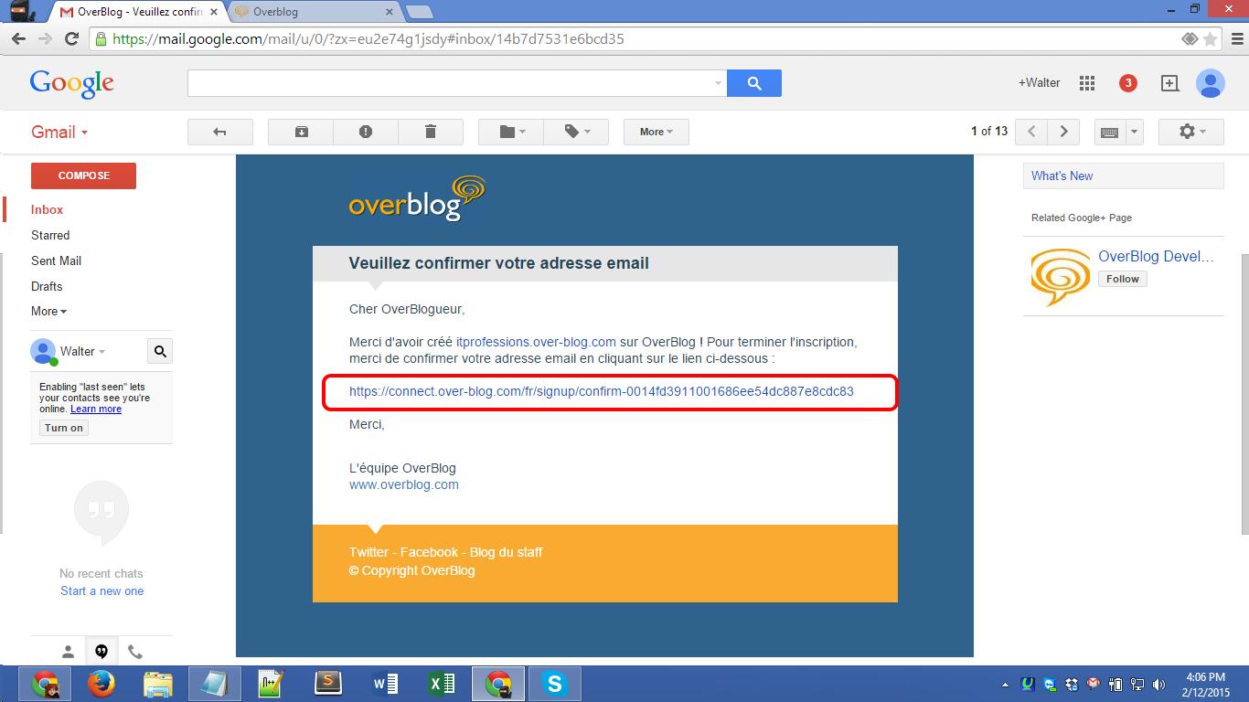 Over-blog.com registration Screenshot 11