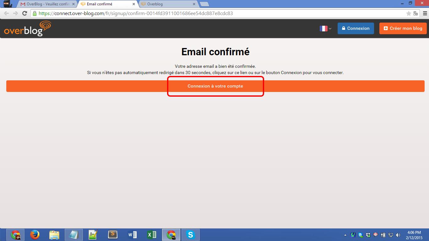 Over-blog.com registration Screenshot 12