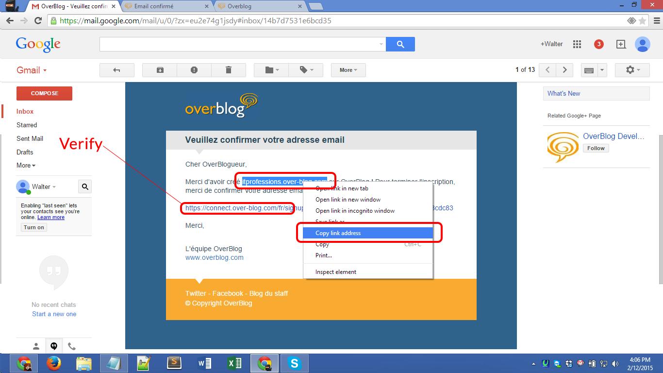 Over-blog.com registration Screenshot 14