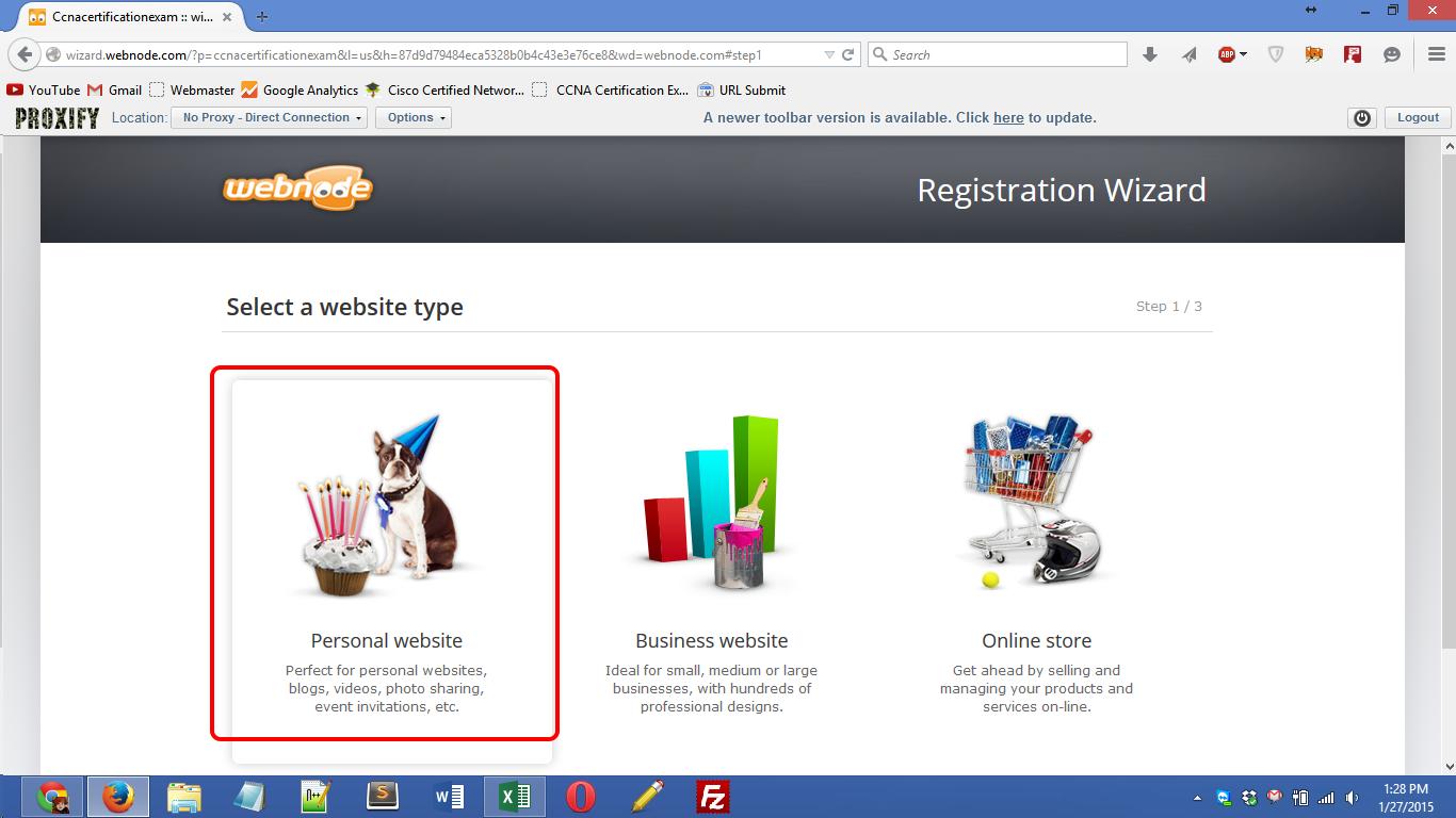 webnode.com registration Screenshot 02
