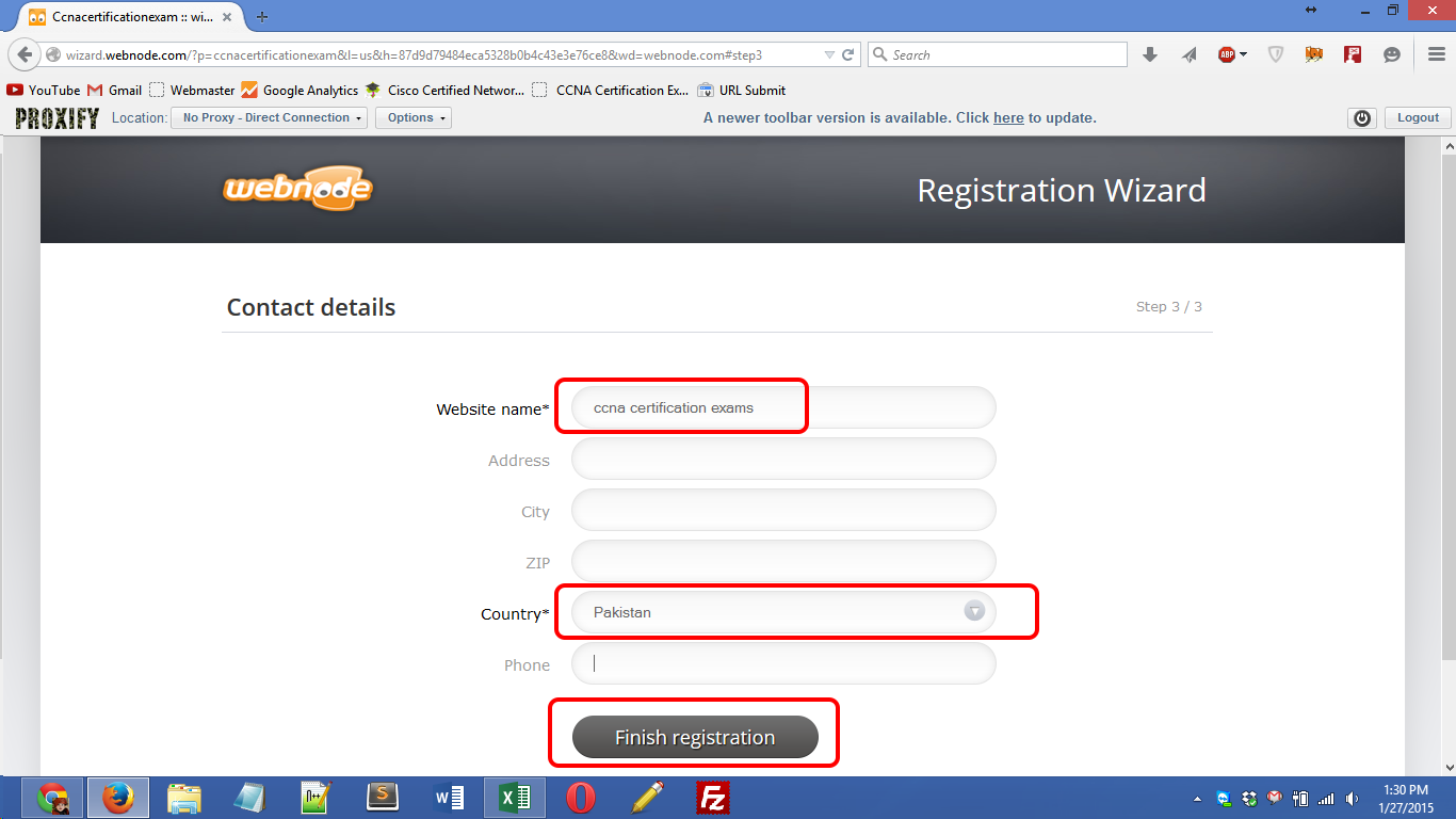 webnode.com registration Screenshot 04
