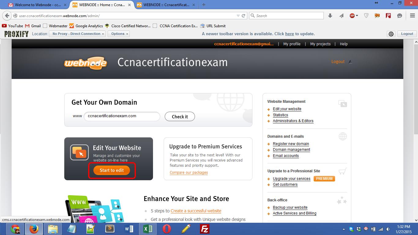 webnode.com registration Screenshot 09