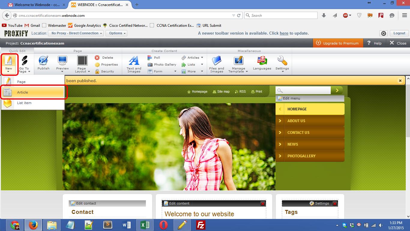 webnode.com registration Screenshot 10